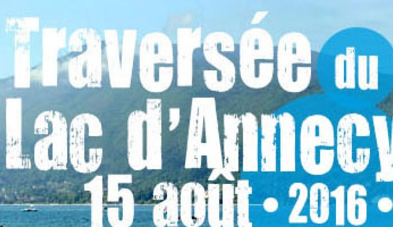 traversee lac annecy 2016
